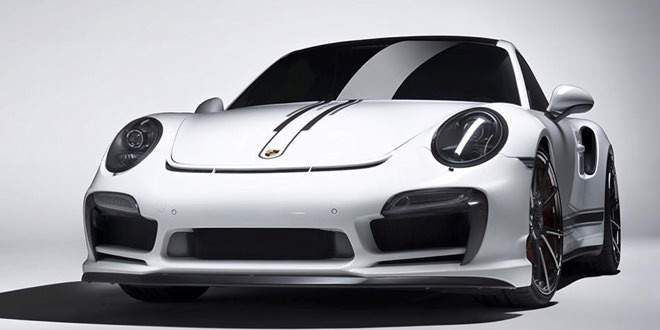 Vorsteiner подготовил карбоновый аэро-комплект для Porsche 911 Turbo
