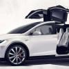 Кроссовер Tesla Model X официально рассекречен