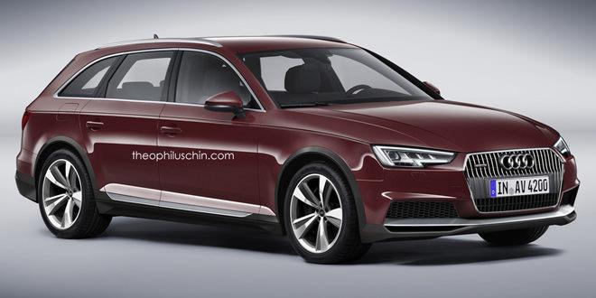 Любительский рендер Audi A4 Allroad как ближайшего пополнения семейства
