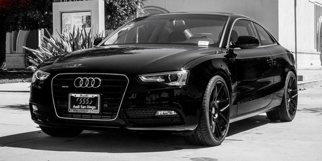 Тотально чёрная Audi A5 по версии TAG Motorsports