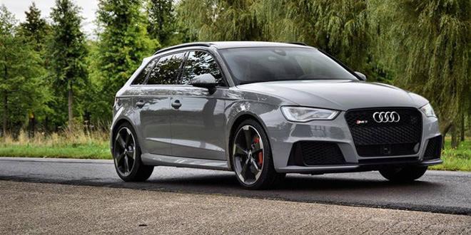 Audi RS3 оттенка Nardo Grey от голландского дилера Vd Akker
