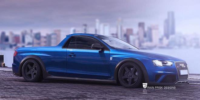 Audi RS4 Ute — стильный пикап по мотивам HSV R8 Maloo