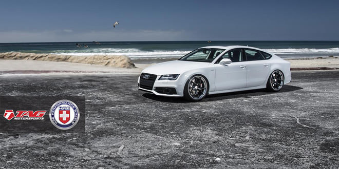 Audi S7 в лёгком апгрейде от TAG Motorsports
