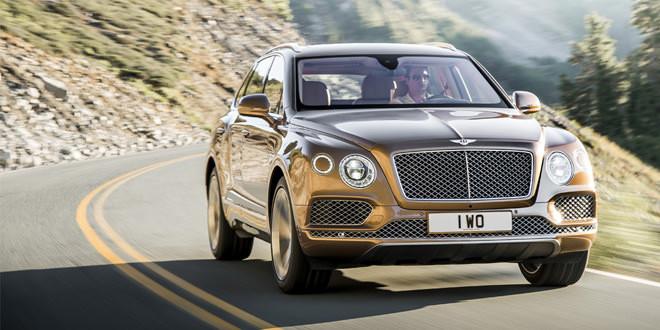 В Китае Bentley Bentayga оценили минимум в 630 000 долл.