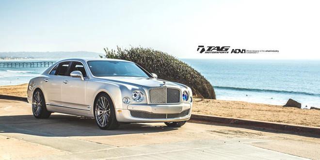 Bentley Mulsanne на дисках ADV.1 Wheels. Другой ракурс