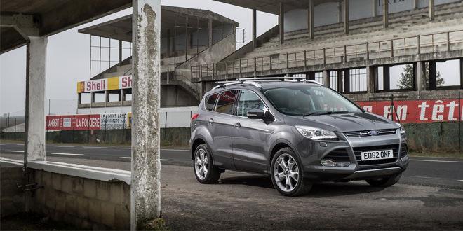 Кроссовер Ford Kuga получит версии премиум и спорт
