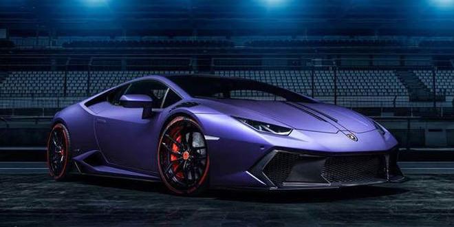 Vorsteiner анонсировал аэрокомплект для Lamborghini Huracan