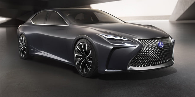 Концепт Lexus LF-FC как предвестник нового флагмана марки