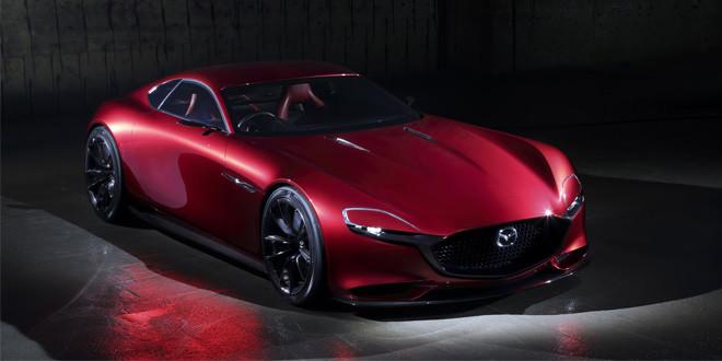 Mazda показала концепт спортивного купе RX-Vision