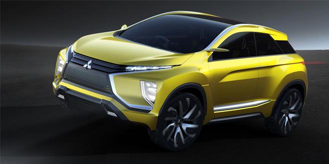 Предвестник Mitsubishi ASX второго поколения прибыл в Токио
