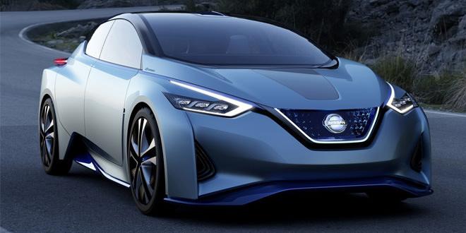 В Токио представили концептуальный электрокар Nissan IDS