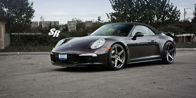 Porsche 911 Carrera 4 прокачали в SR Auto Group