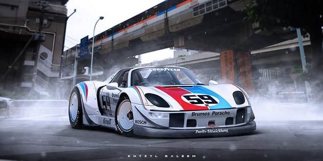 Если бы за Porsche 918 взялось ателье Rauh-Welt Begriff