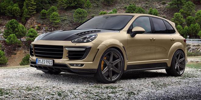 Porsche Cayenne Vantage Gold Edition  от TopCar