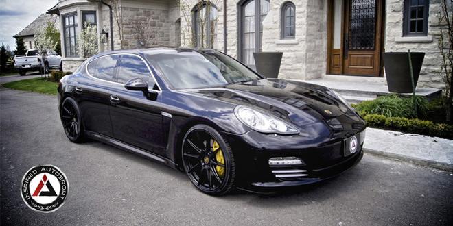Porsche Panamera 4S в лёгкой доработке Inspired Autosport