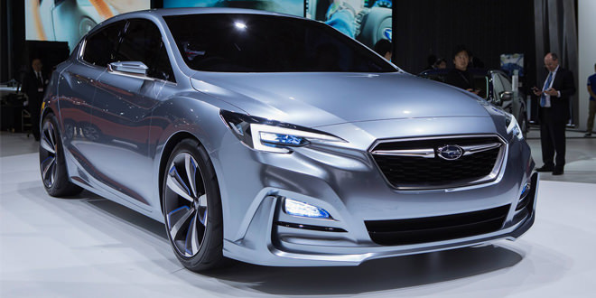 В Токио показали прототип Subaru Impreza 5-Door