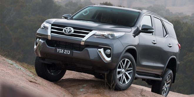 Начались продажи внедорожника Toyota Fortuner нового поколения
