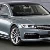 Рендер Volkswagen Phaeton второго поколения