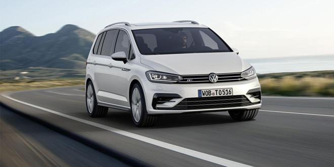 Компактвэн Volkswagen Touran получил пакет R-Line