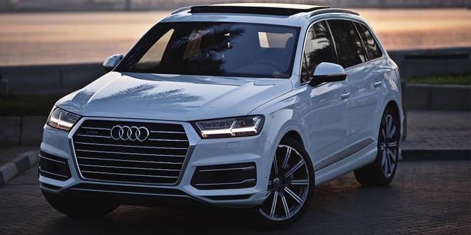 Новая Audi Q7 3.0 TFSI с приветом из Доха