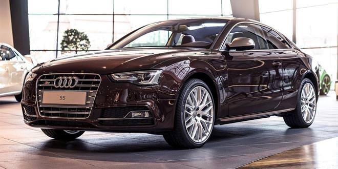 Audi S5 Coupe оттенка Mahogany Mica