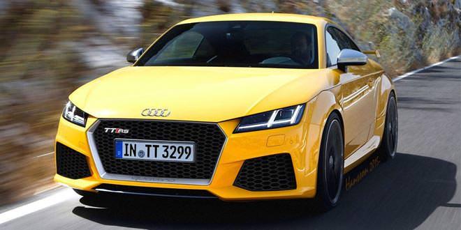 Возможная внешность Audi TT RS нового поколения