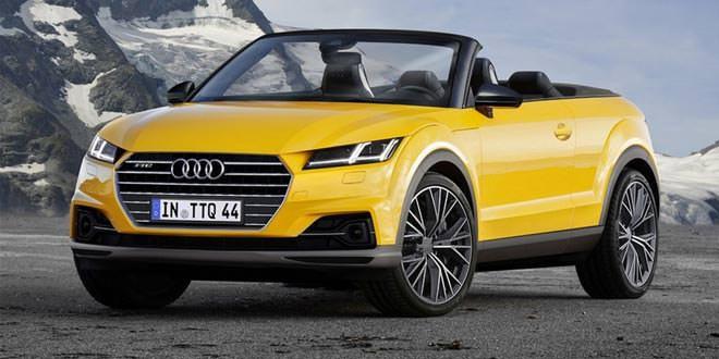Audi TTQ Roadster как ответ Range Rover Evoque Convertible
