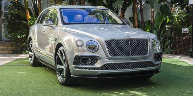 Bentley Bentayga First Edition рассекретили в Лос-Анджелесе