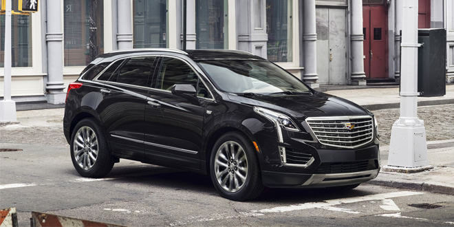 Представлен новый среднеразмерный премиум-кроссовер Cadillac XT5