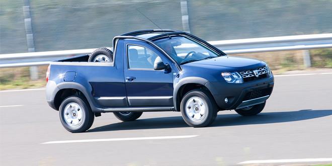 Официально представлен пикап Dacia Duster