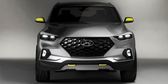 Компания Hyundai показала концептуальный пикап