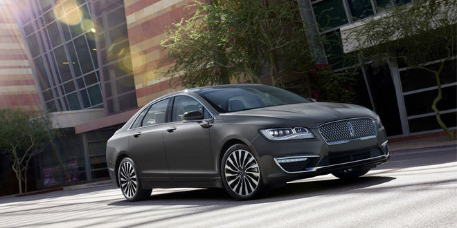 Компания Lincoln обновила седан MKZ