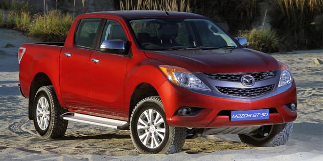 Пикап Mazda BT-50 обновится в 2015 году