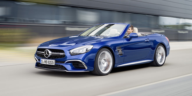 Неожиданная веб-премьера рестайлингового Mercedes-Benz SL