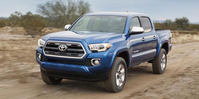 Официально рассекречен новый пикап Toyota Tacoma