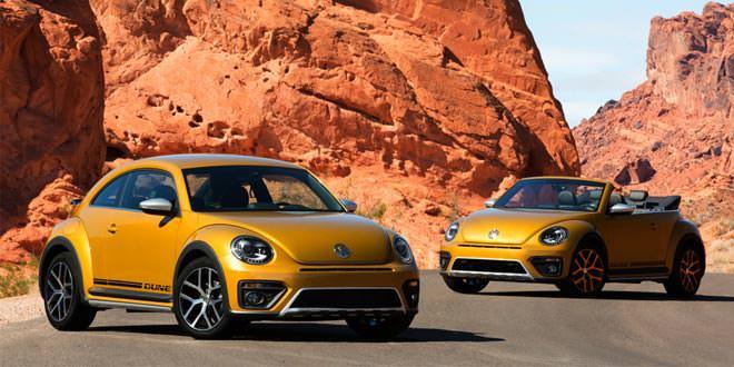 Рассекречен серийный Volkswagen Beetle Dune