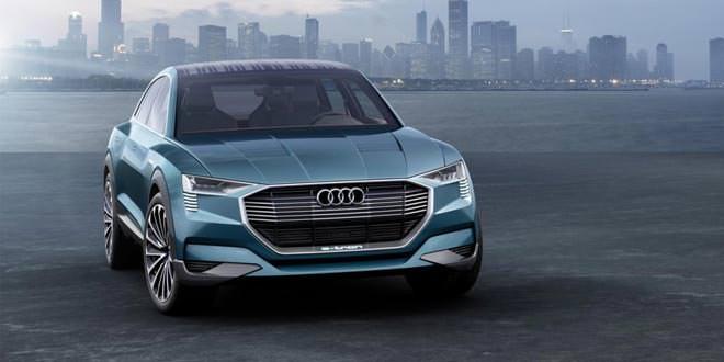 В Детройте представят водородный концепт Audi h-tron quattro