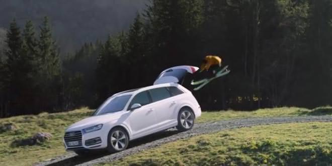 О лыжах и асфальте в новом ролике Audi Q7