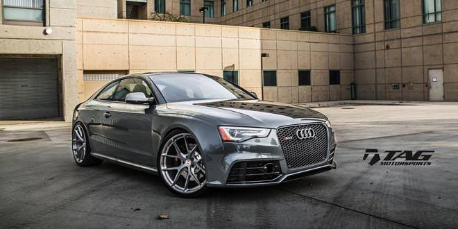 Audi RS5 на дисках HRE P101