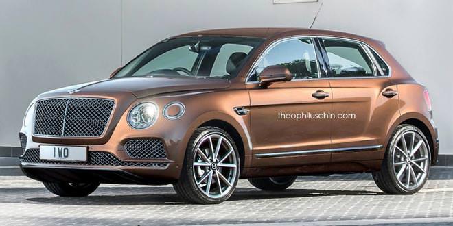 Премиумиальный мини-кроссовер Bentley