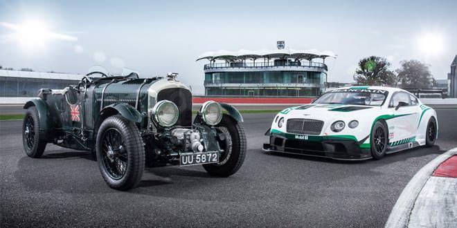 Bentley Continental GT3 и Blower встретились отпраздновать успех в автоспорте