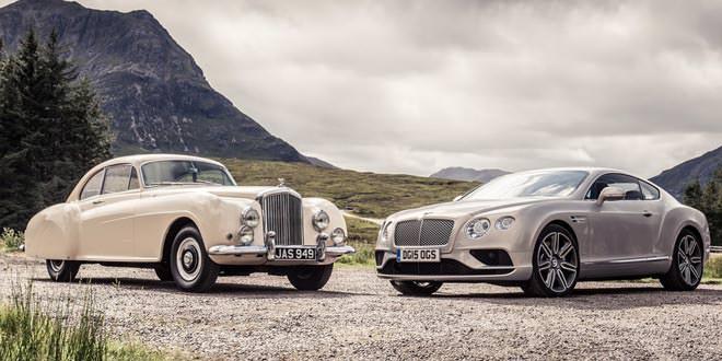 Эпохальная встреча легендарных Bentley Continental