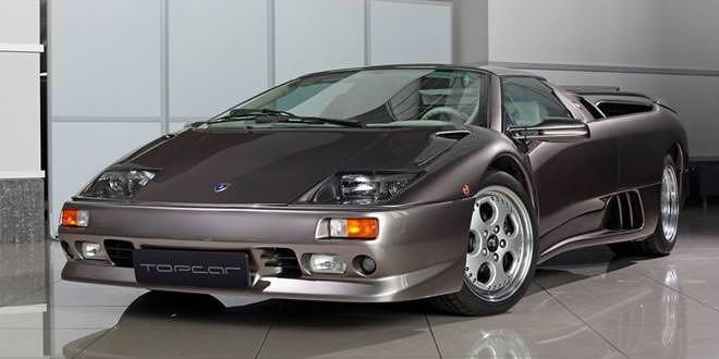 Фотосет Lamborghini Diablo VT Roadster