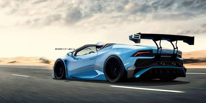Фантазия на тему Lamborghini Huracan Spyder от Bengala