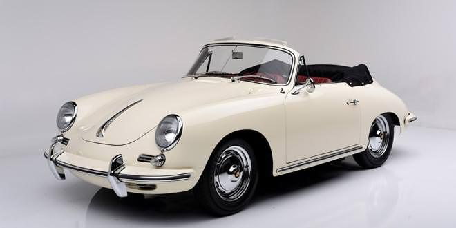 На аукционе Barrett-Jackson продадут три винтажных кабриолета Porsche
