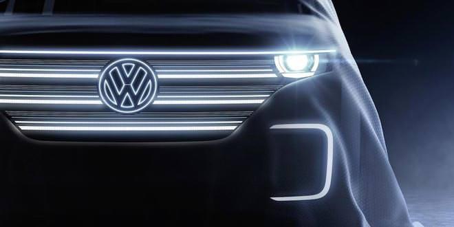 Тизер электро-кемпера Volkswagen к выставке CES 2016