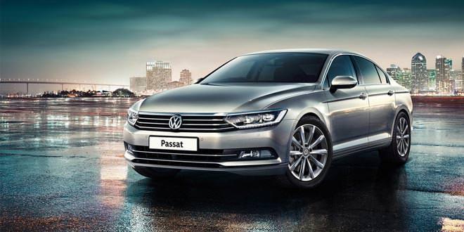 В Британии VW Polo, Golf и Passat обновились на 2016 год