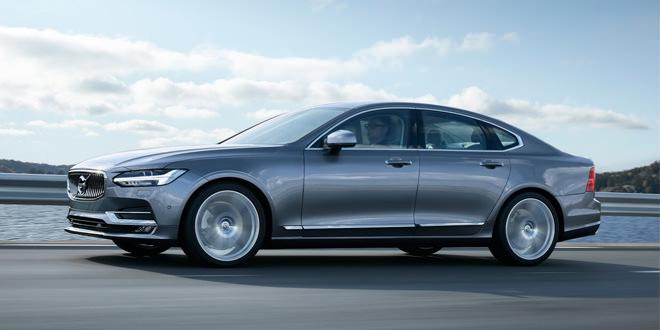 Компания Volvo показала новый премиум-седан S90
