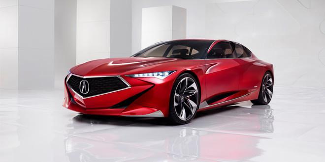 Концепт Acura Precision демонстрирует дизайн будущего марки