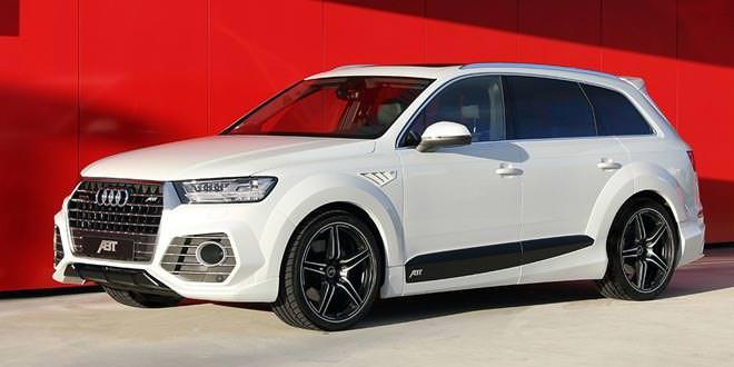 Ателье ABT Sportsline подготовило тюнинг-кит для новой Audi Q7